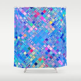 Re-Created  Mosaic No. EIGHT by Robert S. Lee Shower Curtain