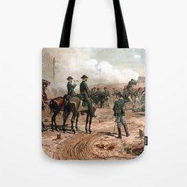 The Siege Of Atlanta -- Civil War Tote Bag