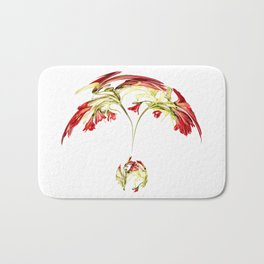 Warped Parrot Lily Bath Mat