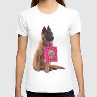 birthday T-shirts featuring Birthday dog by AvHeertum