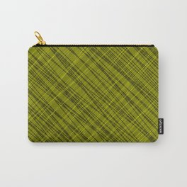 Fluttering ornament of their yellow threads and dark intersecting fibers. Carry-All Pouch