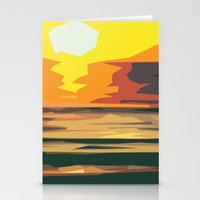 sunrise Stationery Cards featuring Sunrise by Nuam