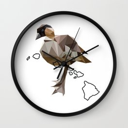 Hawaii – Hawaiian Goose Wall Clock