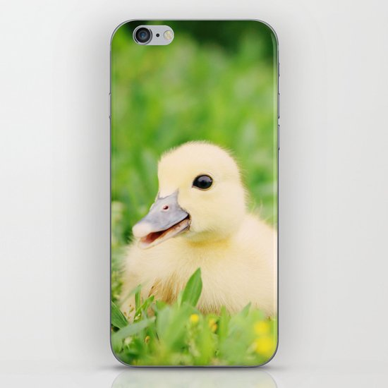 Happy-Go-Ducky iPhone & iPod Skin