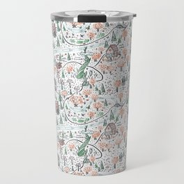 Enchanted Forest Map Travel Mug