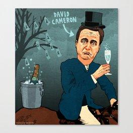 David Cameron Canvas Print