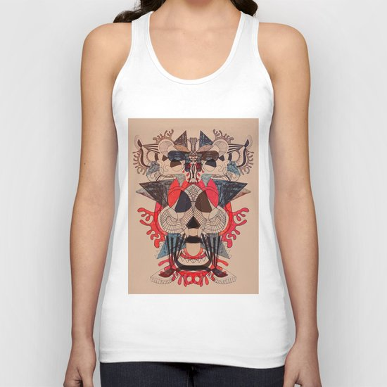 illustrated dreams Unisex Tank Top