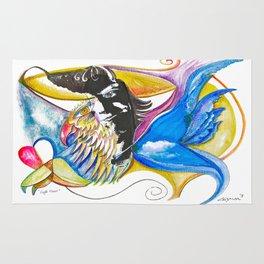 Eagle Heart Rug