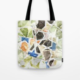Mosaic of Barcelona XIII Tote Bag