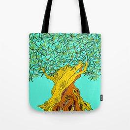 Old Olive Tree Tote Bag