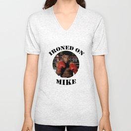 Ironed on Mike Unisex V-Neck