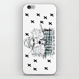 #STUKGIRL H.B.I.C iPhone Skin