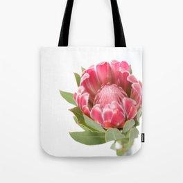 Dark Pink Protea Tote Bag