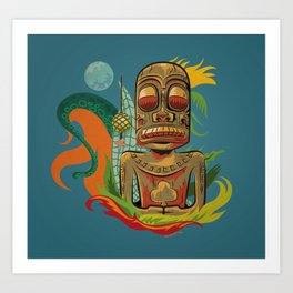 Marquesan Jack Art Print