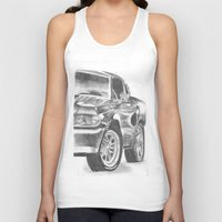 mustang Tank Tops featuring Mustang by WNN Creations