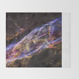 Veil Nebula Throw Blanket