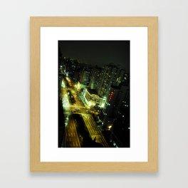 shanghai by night #3 Framed Art Print