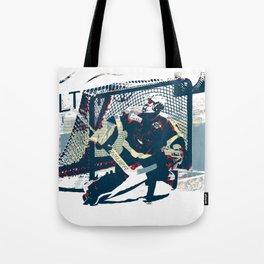 Goalie - Ice Hockey Player Tote Bag