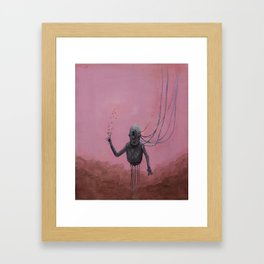 Won't Let Go Framed Art Print