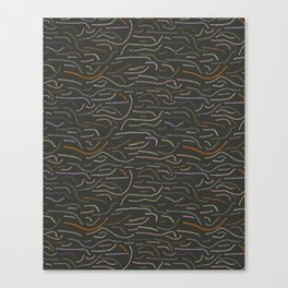 worms Canvas Print