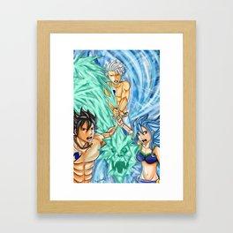 Gruvion Unison Raid Framed Art Print