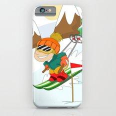 Winter Sports: Skiing iPhone 6s Slim Case