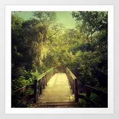 The Journey Starts With a Single Step Art Print
