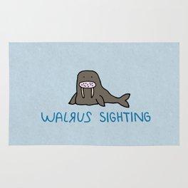 Walrus Sighting Rug