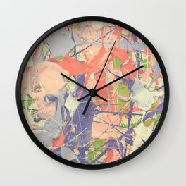 Miniature Original - lilac Wall Clock