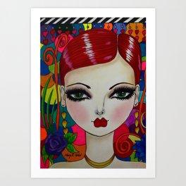 KASEY Art Print
