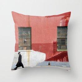 Brooklyn wall art 2 Throw Pillow