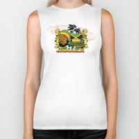 jamaica Biker Tanks featuring Jamaica by Tshirt-Factory