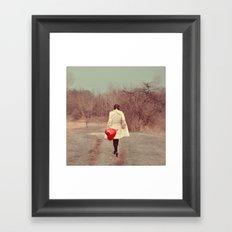 You've Gotta Have Heart Framed Art Print