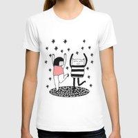 dancing T-shirts featuring dancing by Regina Rivas Bigordá