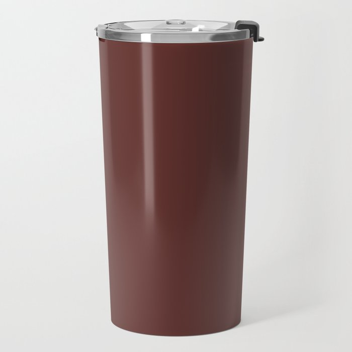 After Silence, Music ~ Reddish Brown Travel Mug