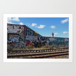 Detroit Exploring Art Print