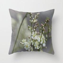 False Spirea Throw Pillow