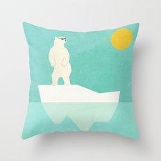 Solar Bear Throw Pillow