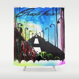 Addiction to creative vision Shower Curtain