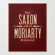 Saxon & Moriarty Canvas Print