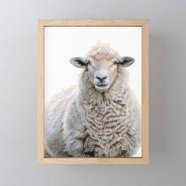 Mona Fleece-a Framed Mini Art Print