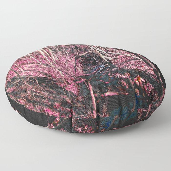 Pink Creek Woods Floor Pillow