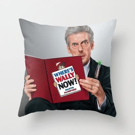12th Doctor Throw Pillow