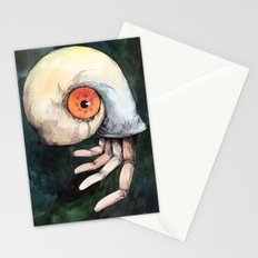 The keen finger Stationery Cards