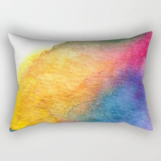 The Lilac-breasted Roller Rectangular Pillow