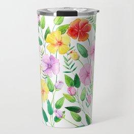 Flowers (collage) Travel Mug