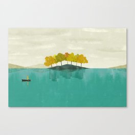 LIVE IN DIFFERENT WORLDS Canvas Print