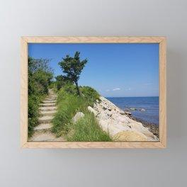 The Knob Framed Mini Art Print