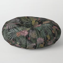 Tropical Iridescence Floor Pillow