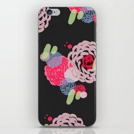 Brush roses iPhone Skin